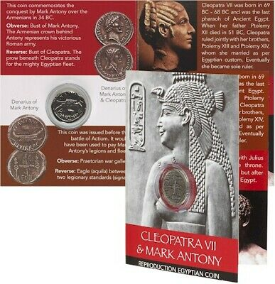 Cleopatra & Mark Antony Coin Pack - Galley Denarius