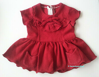 Vintage 70s Very Cute Little Red Dress Very Pretty