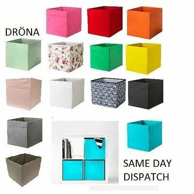IKea Drona Box Expedit magazine storage Kallax Shelving Shelf Boxes Brand New