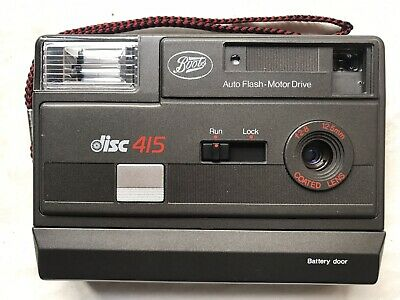 Vintage Boots Disc 415 Camera.