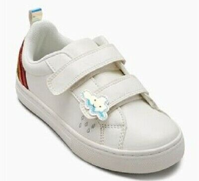 Next Girls Velcro Rainbow Trainers Sneakers Shoes UK 5 EUR 21.5 BNWT RRP £20