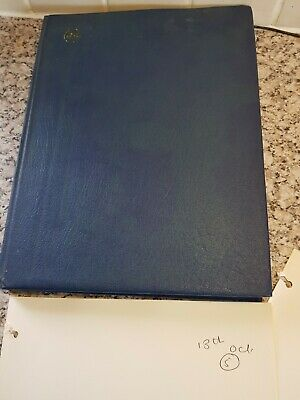 Stamp albums with stamps high volume all pages shown