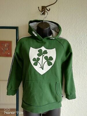 Childs Ireland Rugby Team Hooded Top Size 10yrs