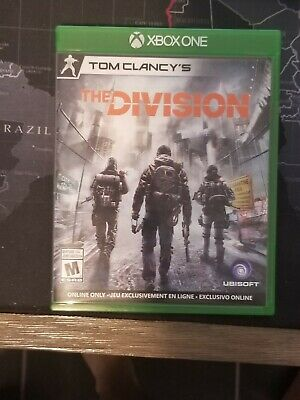 Tom Clancy's The Division Xbox One ( Near mint condition)