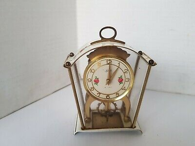 Schatz Carriage Clock With Visible Escapement For Restoration.