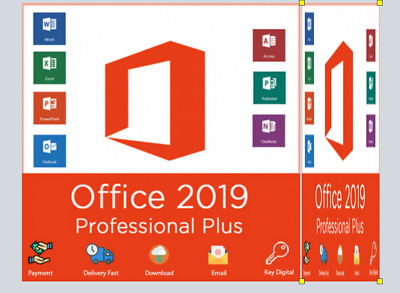 Microsoft Office 2019 Pro Plus Professional -Download & Key 32/64 Bit