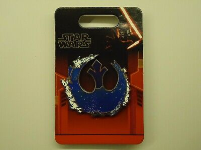 Disney Parks Star Wars Rise Of Skywalker Blue Rebel Alliance Pin **New In Hand**