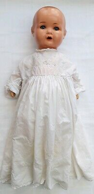 ANTIQUE ARMAND MARSEILLE 19 INCH GERMAN DOLL MOULD NO/ 518 / 52k & CLOTHING