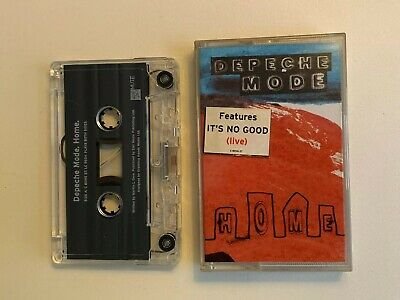 Depeche Mode Its No Good Live Vintage Music Cassette