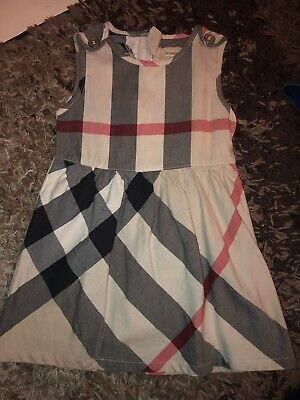 burberry Dress Girls