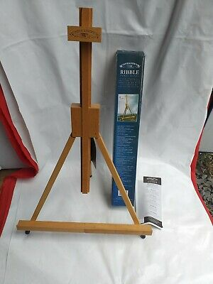 Winsor & Newton Ribble Table Top Wooden Tripod Easel Art Painting Display