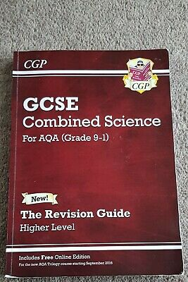 GCSE Combined Science For AQA (Grade 9-1) Publisher: CGP