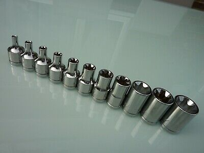 "Blue Point 3//8/"" /& 1//4/"" UJ Universal Joints sold by Snap On NEW 4 Socket Bit Set"