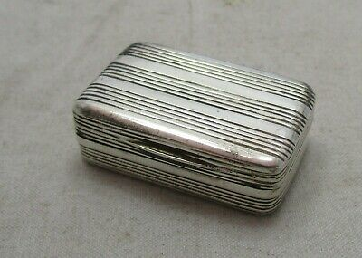 Antique Georgian Sterling silver Vinaigrette, 1801, TH