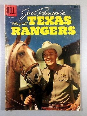 DELL Jace Pearson's TALES of the TEXAS RANGER Dec 1957 #14 GOLDEN AGE Ships FREE
