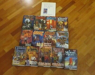 WHEEL OF TIME Complete Series by ROBERT JORDAN 14 Hardcover Books 1st Editions