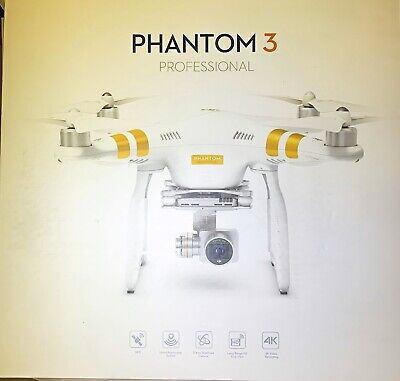 DJI Phantom 3 Professional PRO Quadcopter Drone with 4K Camera and 3-Axis Gimbal