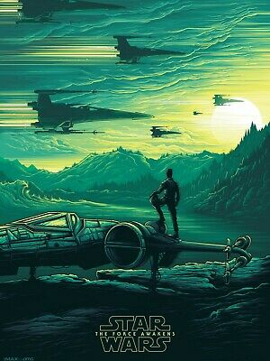 Star Wars The Force Awakens High Quality Movie Print Poster
