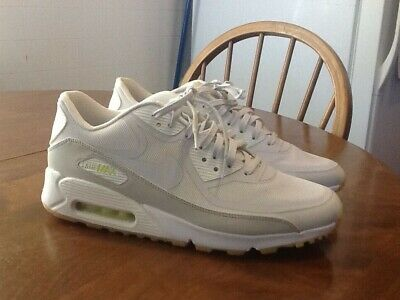 NIKE AIR MAX 90 CMFT PRM TAPE GLOW IN THE DARK White Lab Green 44.5 men's 10.5