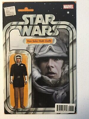 Marvel Star Wars #34 John Tyler Christopher Action Figure Variant Han Solo: Hoth