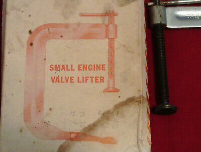 Wilde Tool Co Small Engine Valve Lifter  Model 600 MADE IN USA