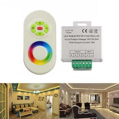 RF Touch Panel Wireless Remote Controller For RGB Led Strip Light DC 12V/24V XX