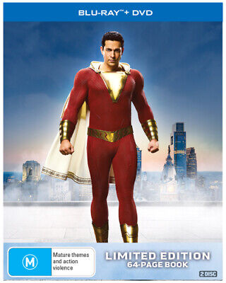 Shazam! (Digibook)  - BLU-RAY - NEW Region B