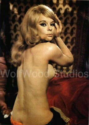 BEAUTIFUL STAR ELKE SOMMER GERMAN FAMOUS ACTRESS 8.5 x 11 PUBLICITY PHOTO