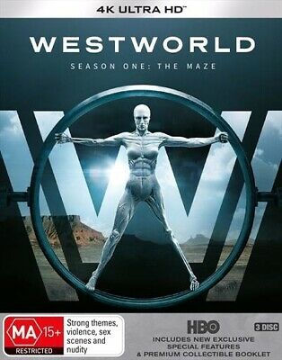 Westworld: Season 1 - The Maze (4K UHD/Blu-ray)  - BLU-RAY - NEW Region B