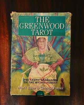 Rare and Collectable The Greenwood Tarot Deck and Book