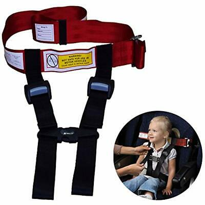 Child Safety Harness Airplane Travel Clip Strap.The System Will Protect Your FAA