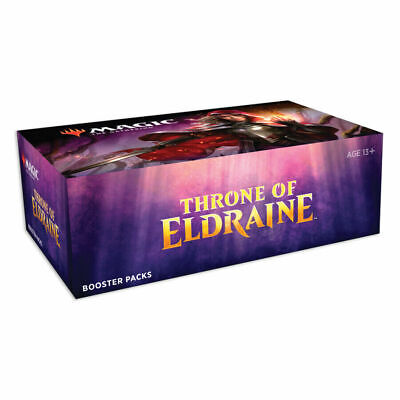 Magic MTG THRONE OF ELDRAINE Booster Box Magic Sealed Priority Free Shipping