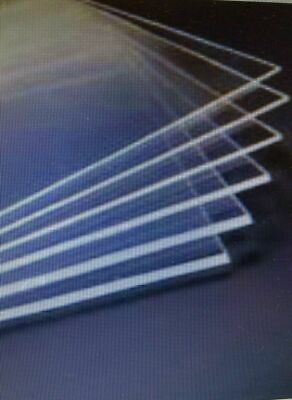 Clear Acrylic Perspex Sheet Custom Cut Size Panels Plastic Panel Any Size