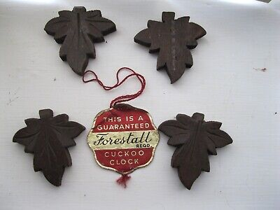 Cuckoo Clock Parts Vintage.