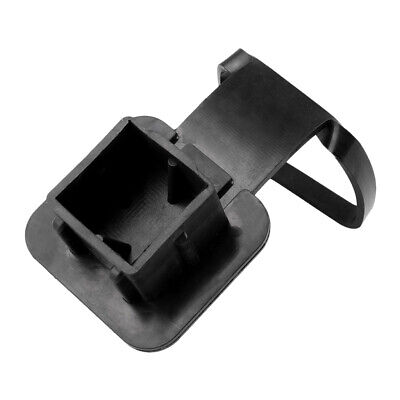 Trailer Hitch Tube Protector Rubber Cover Plug Cap Square Fit 2Inch Receiver