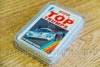Waddingtons Top Trumps - Le Mans Cars - Complete set - VGC
