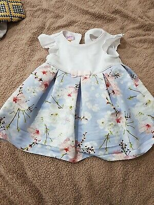 Girls Ted Baker Dress 6-9 Months