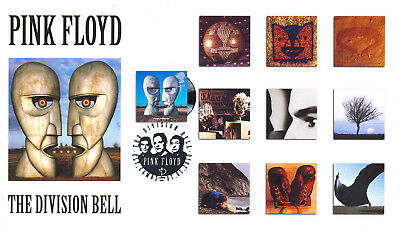 2010 Classic Albums - Steven Scott 'Pink Floyd' (1 x Division Bell Stamp) Off