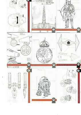 Topps Star Wars Journey To The Rise Of Skywalker Cards - Schematics Cards