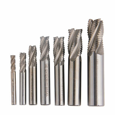 Replacement End Mill Resistant Accessories 4-Flutes Roughing Milling Cutter