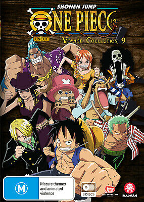 One Piece Voyage Collection 9 (Episodes 397-445) Dvd New