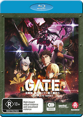 Gate Complete Series (Blu-Ray) Blu-Ray New