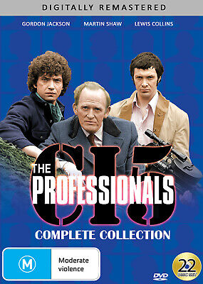 The Professionals - Complete Collection Dvd New