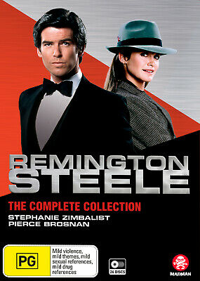 Remington Steele: The Complete Collection Dvd New