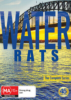 Water Rats The Complete Series (Seasons 1 - 6) Dvd New