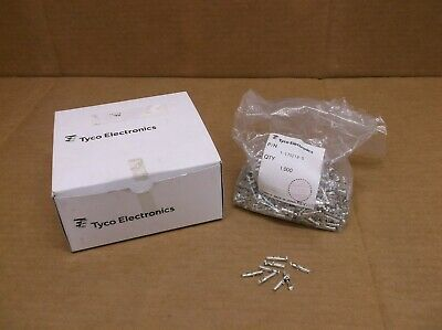 QTY 900+) 1-175218-5 NEW I Box Tyco AMP Heavy Duty Connector Contact Crimp 16AWG