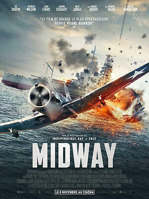 X345 Midway Movie Roland Emmerich New Fabric Poster 24x36 40inch