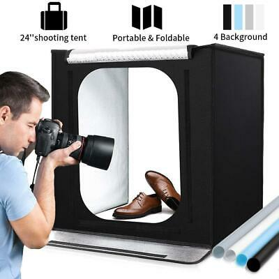 Portable Photo Studio, 24 * 24 * 24 inchs Large Foldable Photography 60CM
