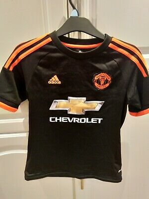 Manchester United Shirt 2015-16 3rd Shirt Children's Age 11-12