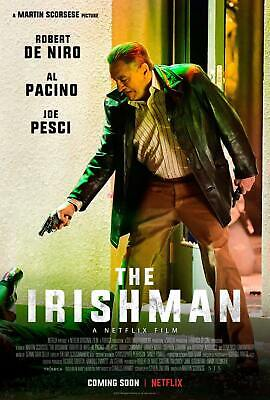 The Irishman Movie Martin Scorsese Robert Fabric Poster Decoration T-802